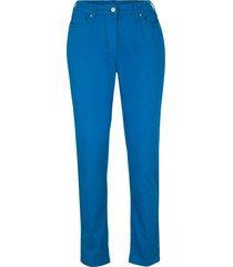 pantaloni elasticizzati  con cinta comoda straight (blu) - bpc bonprix collection