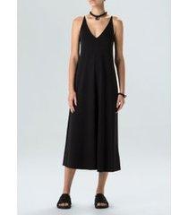 vestido alça e-basics-preto