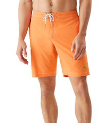 tommy bahama baja harbor solid board shorts, size large in aztec at nordstrom