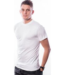 ten cate men basic t-shirt round neck white two pack (30868)