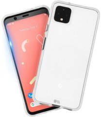 case-mate protection pack tough clear case plus glass screen protector for google pixel 4 xl