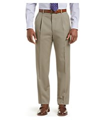executive collection traditional fit pleated dress pants clearance by jos. a. bank
