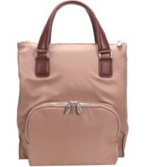 mcklein sofia, 3-in-1 ladies convertible backpack tote