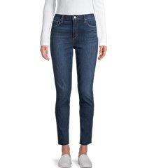 joe's jeans women's distressed skinny jeans - blue - size 23 (00)