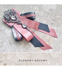 brosza/ krawat z glamour