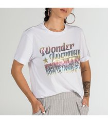 camiseta  mujer  wonder woman core