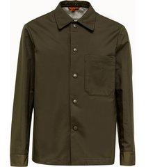 barena camicia cedrone in poliammide verde
