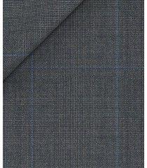 pantaloni da uomo su misura, reda, principe di galles grigio, quattro stagioni | lanieri