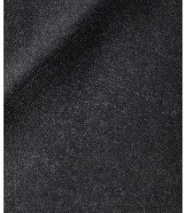 cappotto da uomo su misura, tallia di delfino, grigio scuro thindown, autunno inverno | lanieri
