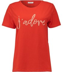 t-shirt cooma rood