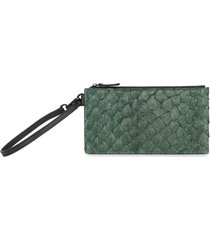 carteira feminina mini pouch - verde