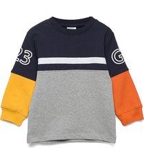 stan - sweatshirt sweat-shirt tröja blå hust & claire