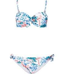 bikini a balconcino con ferretto (set 2 pezzi) (bianco) - bpc bonprix collection