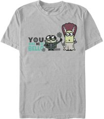 despicable me men's minions you had me at bello halloween short sleeve t-shirt