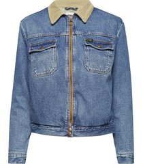 carpenter jacket jeansjacka denimjacka blå wrangler