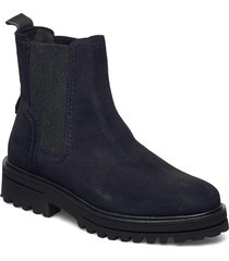 licia 8a shoes chelsea boots blå marc o'polo footwear
