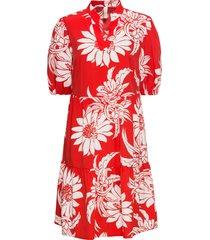 abito a fiori (rosso) - bodyflirt boutique
