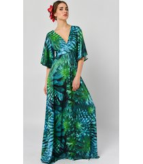 tropikalna magdalena - sukienka maxi