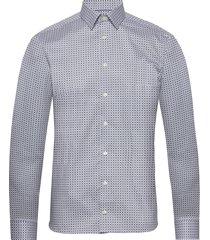 medallions print shirt overhemd business multi/patroon eton