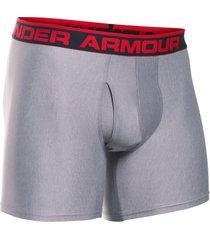 "boxer under armour original series 6"" boxerjock gris"