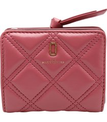 marc jacobs quilted softshot leather wallet