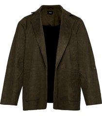 jacket pockets plus long sleeves blazers casual blazers grön zizzi