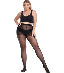 high elastic plus size sexy mesh tights