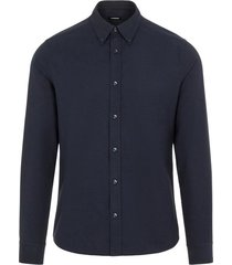 stretch oxford slim shirt