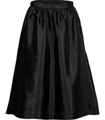 phine knälång kjol svart stella nova