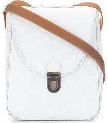 cherevichkiotvichki structured shoulder bag - white