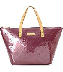 bellevue pm monogram patent leather tote