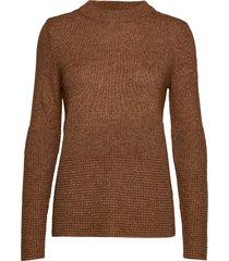 pullover long-sleeve gebreide trui bruin gerry weber edition