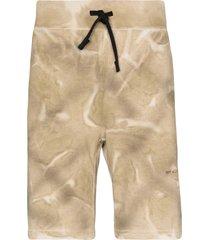 1017 alyx 9sm print jersey shorts - neutrals