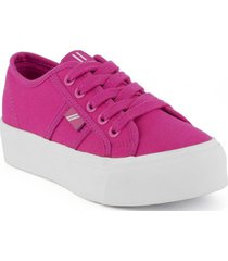 zapatilla ares fucsia north star