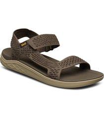m terra-float 2 knit evolve shoes summer shoes sandals grå teva