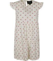 marc jacobs cherry motif print dress