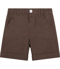 little bear brown shorts for babyboy