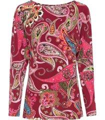 maglia a maniche lunghe (rosso) - bodyflirt boutique