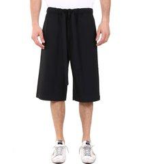 loewe pleated shorts in wool