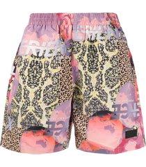 perks and mini animal swim shorts - pink