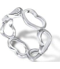 anillo compromiso corazón casual plata arany joyas