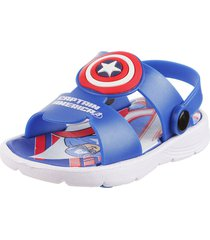 sandalia azul marvel capitán américa