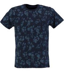 petrol zacht blauw slim fit shirt valt kleiner