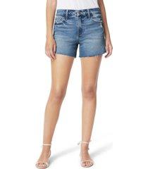 joe's jeans clematis ozzie frayed-hem shorts