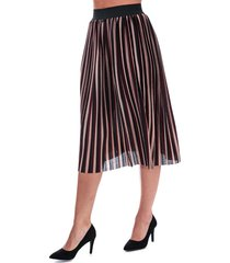 womens sway stripe skirt