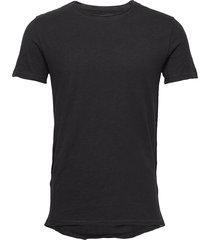 konrad slub s/s tee t-shirts short-sleeved svart gabba