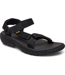 w hurricane xlt 2 shoes summer shoes flat sandals svart teva