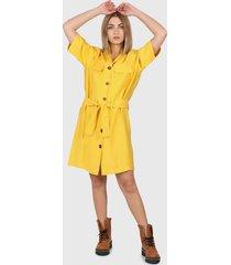 vestido amarillo  montjuic rodas