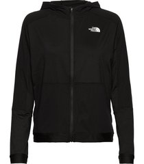 w active trail fz hoodie trui zwart the north face