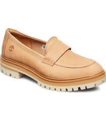 london square slip on loafers låga skor beige timberland